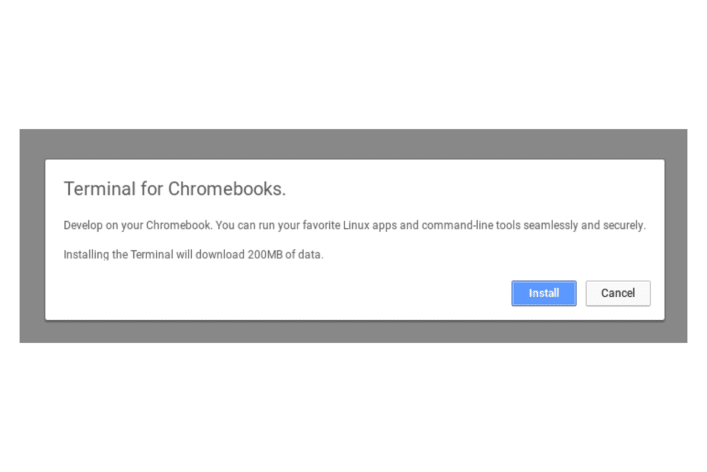 Chrome OS could be getting containers for running Linux VMs