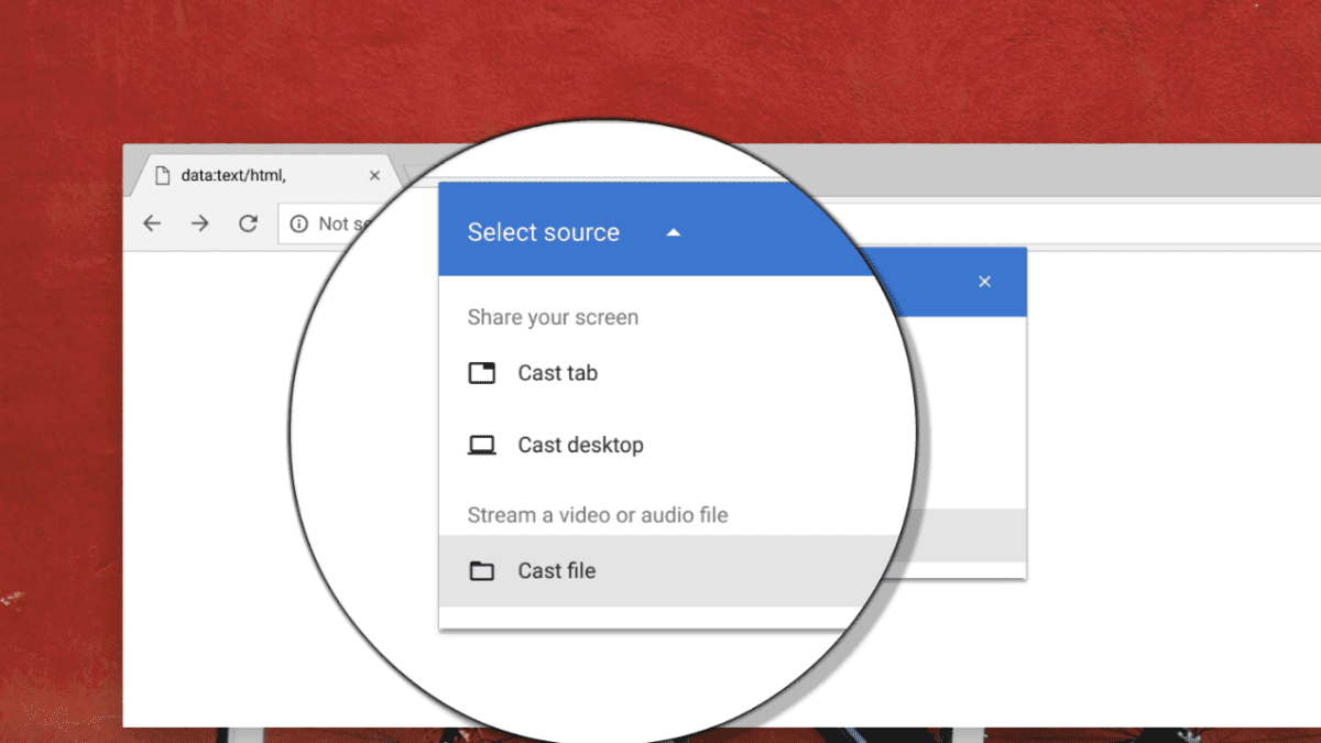 "New ""Cast File"" Feature Headed To Chrome"