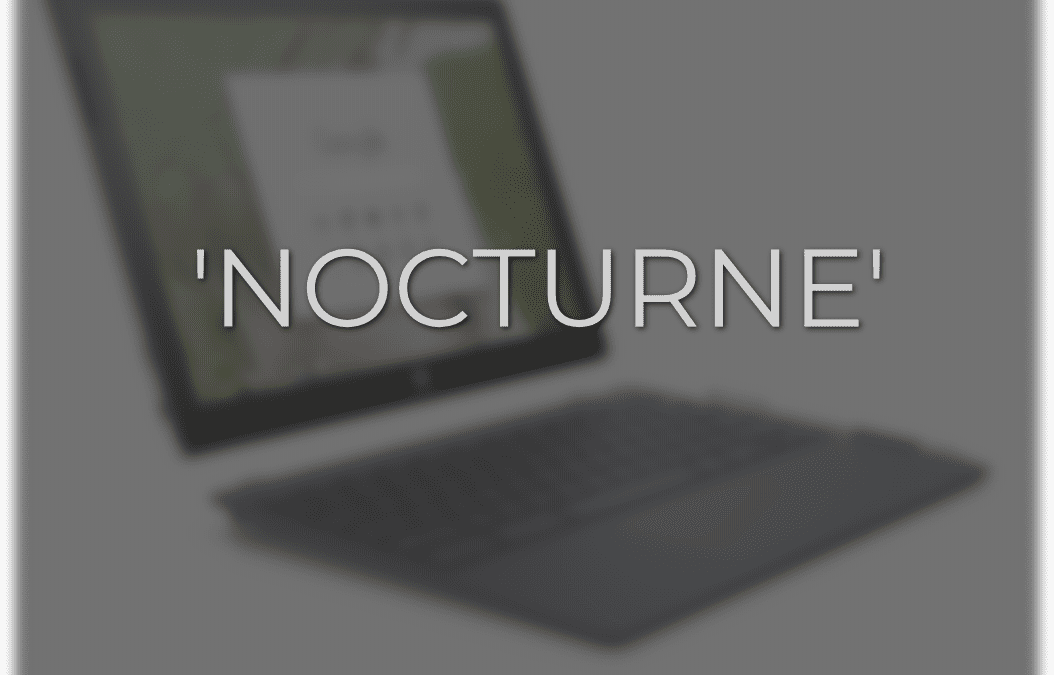 'Nocturne': Another High-res Detachable Chromebook Arises