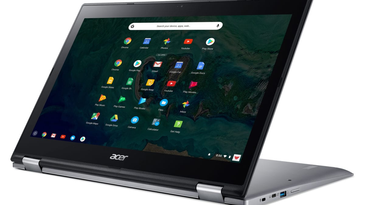 [Update] Acer Chromebook Spin 15 Now Available