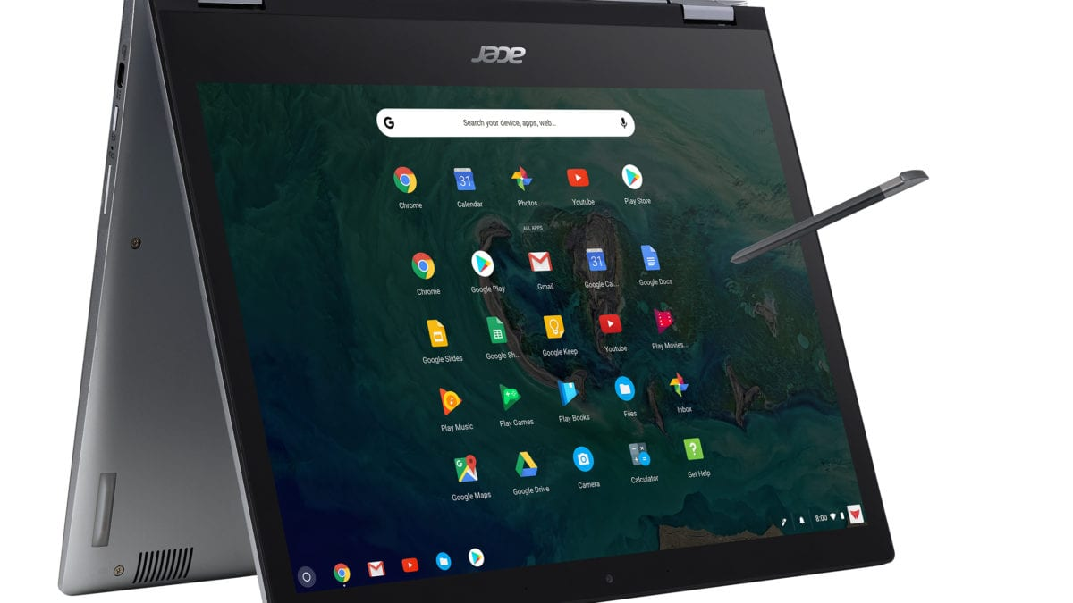 Acer Debuts Four New Chromebooks