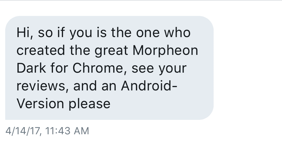 Morpheon Dark: The Humble Story Of The World's Most Popular