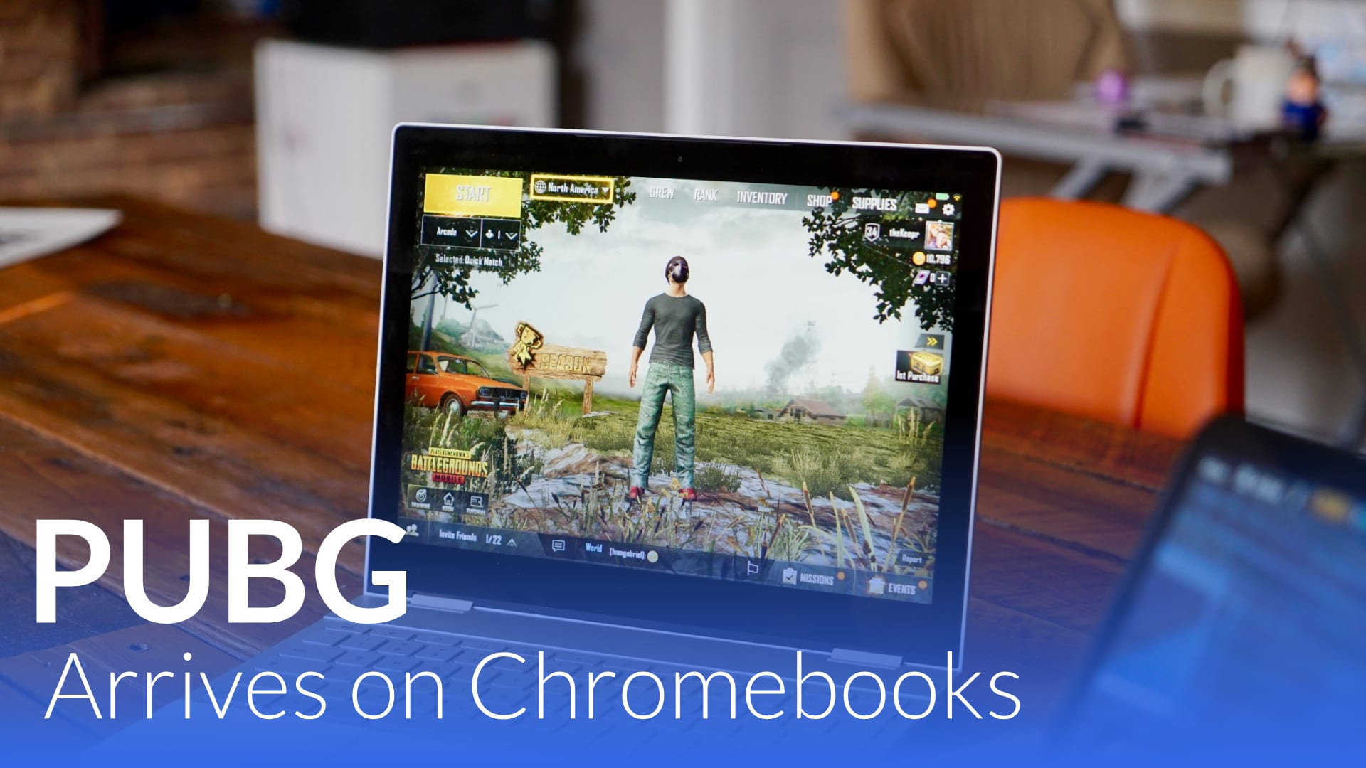 PUBG Mobile Finally Lands On Intel-Powered Chromebooks [VIDEO]