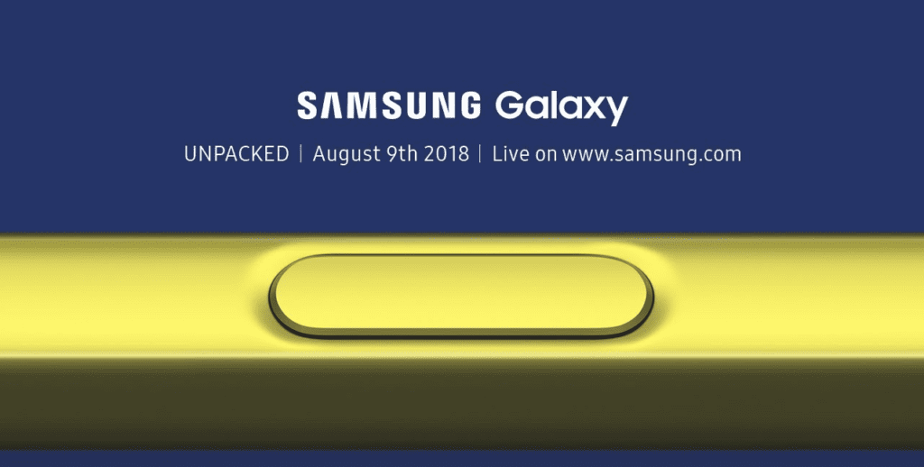 Samsung launches the Galaxy Note9 with 6.4-inch screen