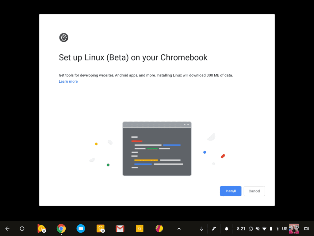 Linux Apps Land On Beta Channel For A Lot Of Chromebooks