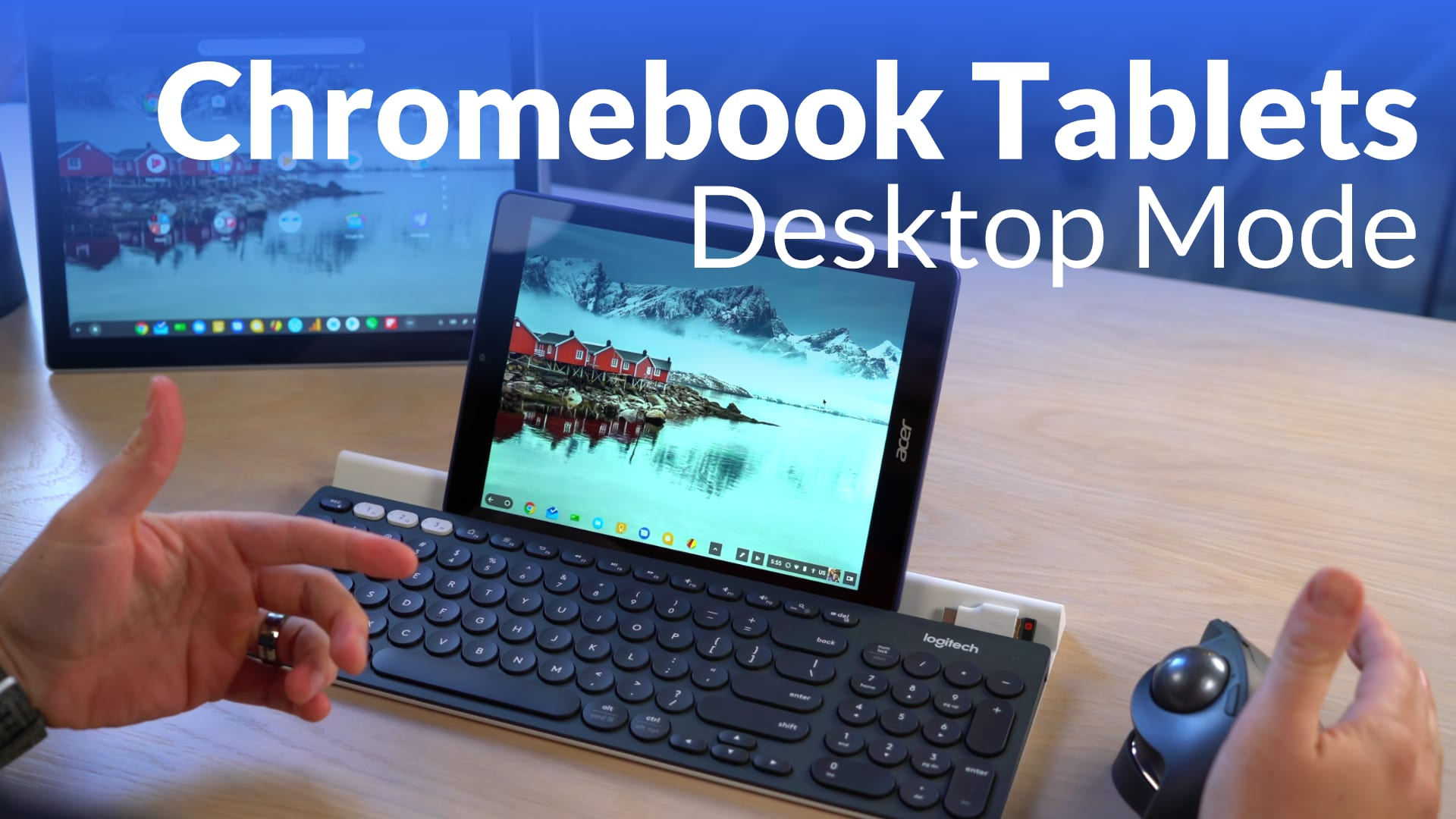 Chromebook Tablets Getting Proper Desktop Mode [VIDEO]