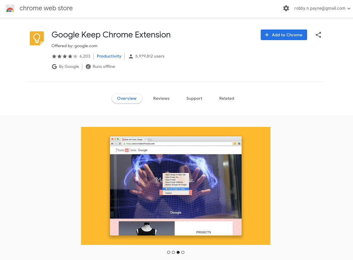 The Chrome Web Store Gets a Material Design Facelift, New Lease On Life