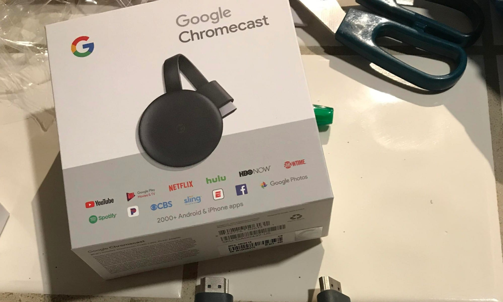 Google's New Chromecast showing up on more shelves, before its announced