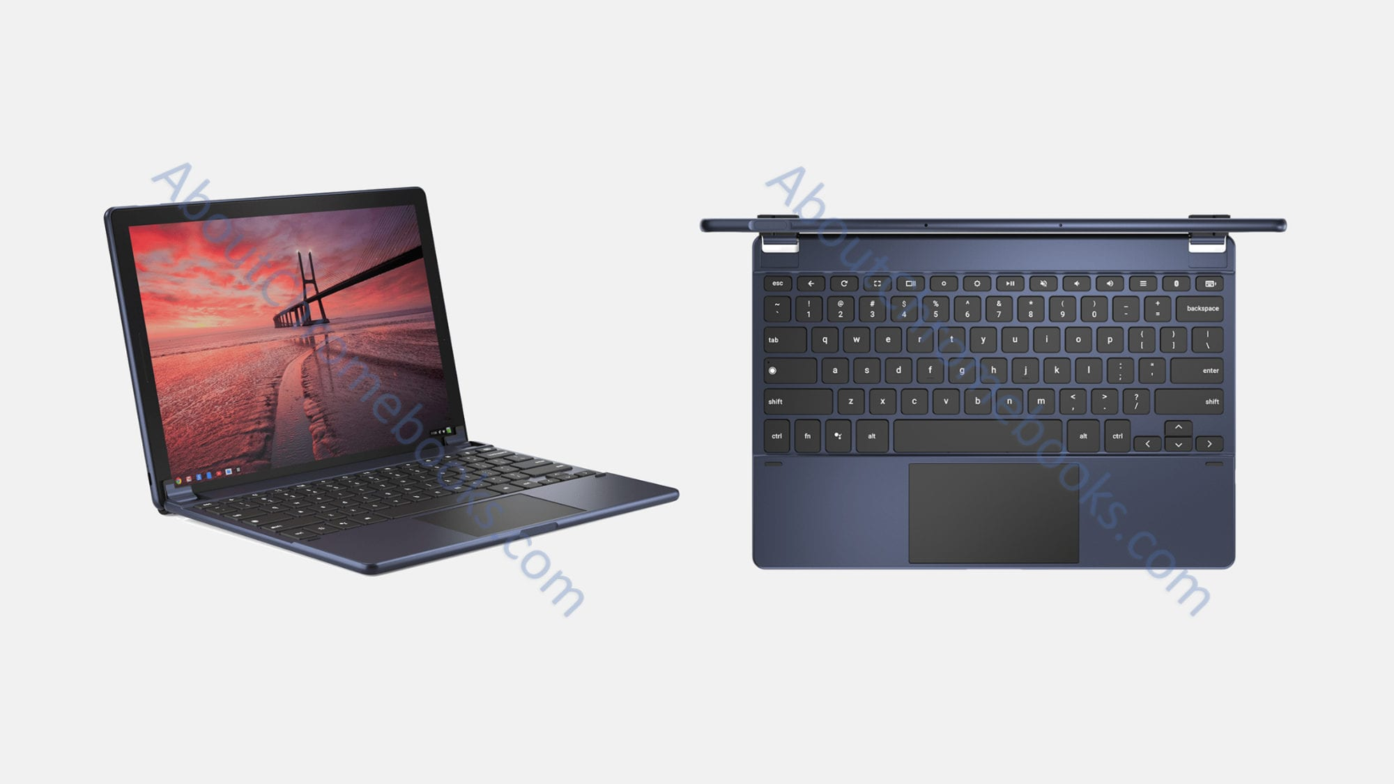 This Could Be The First Look At #madebyGoogle Chromebook Tablet 'Nocturne' With 2 Keyboards By Brydge