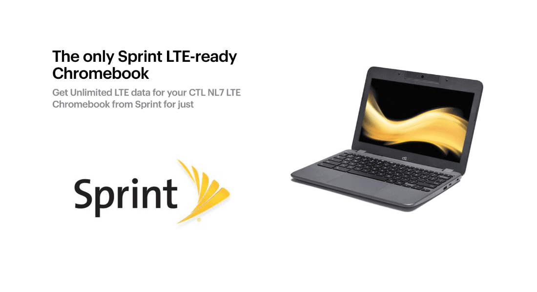 CTL And Sprint Launch LTE-enabled Chromebook