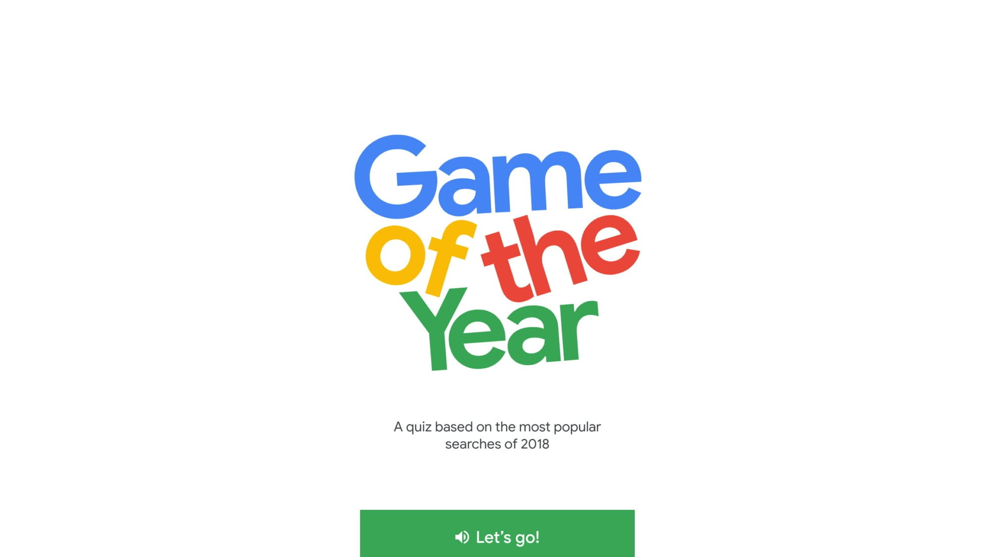 Google's Game of The Year 2018 Is A Shining Example of The Future Of Web Apps