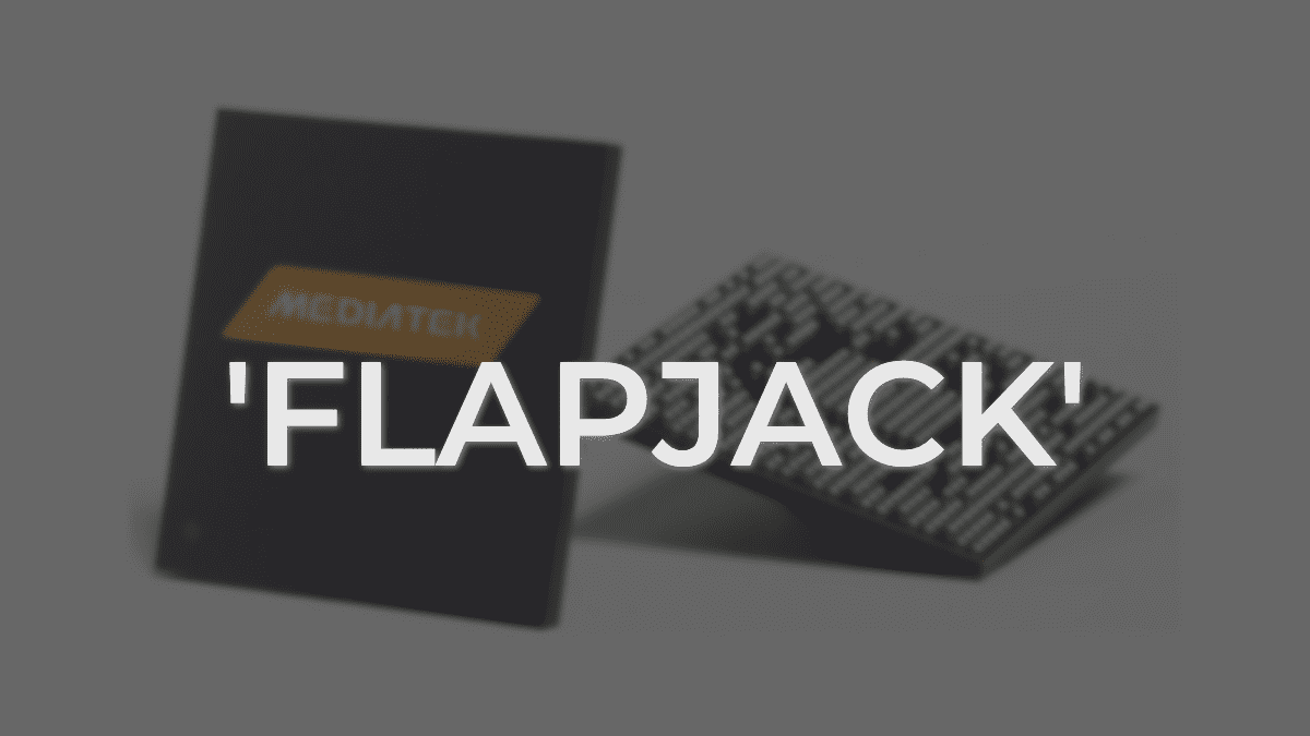 New MediaTeK Chromebook Begins Development: Meet 'Flapjack'