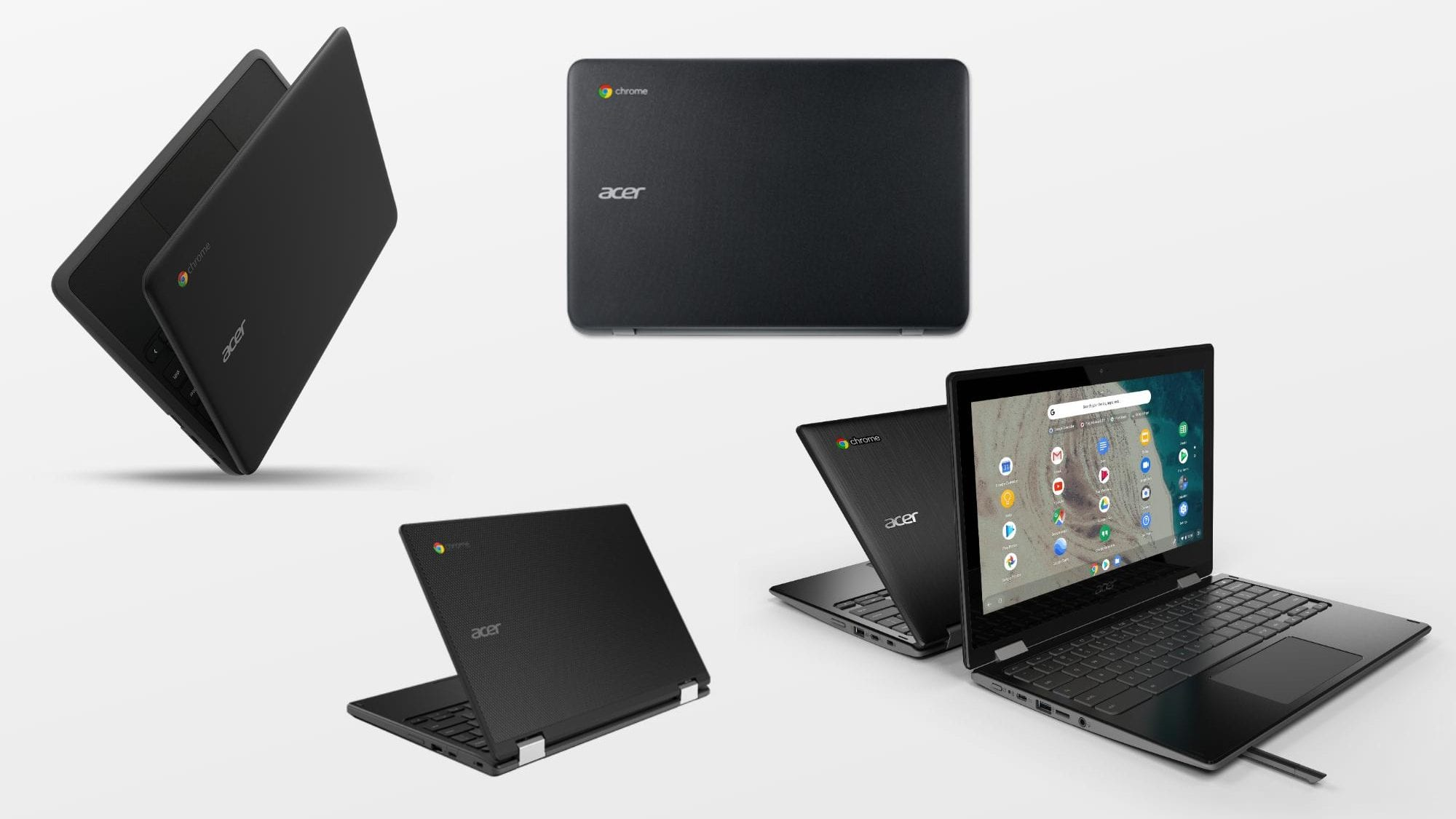 Acer Drops A Suite Of 11.6-inch Chromebooks at BETT 2019, Including an AMD Model