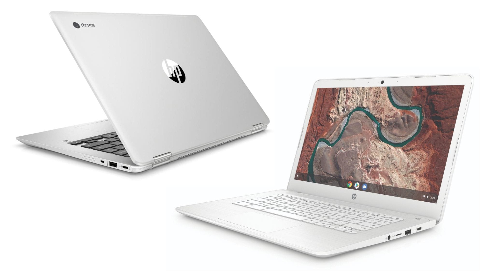 HP Unveils Its First 14-inch AMD Chromebook and x360 14 G1
