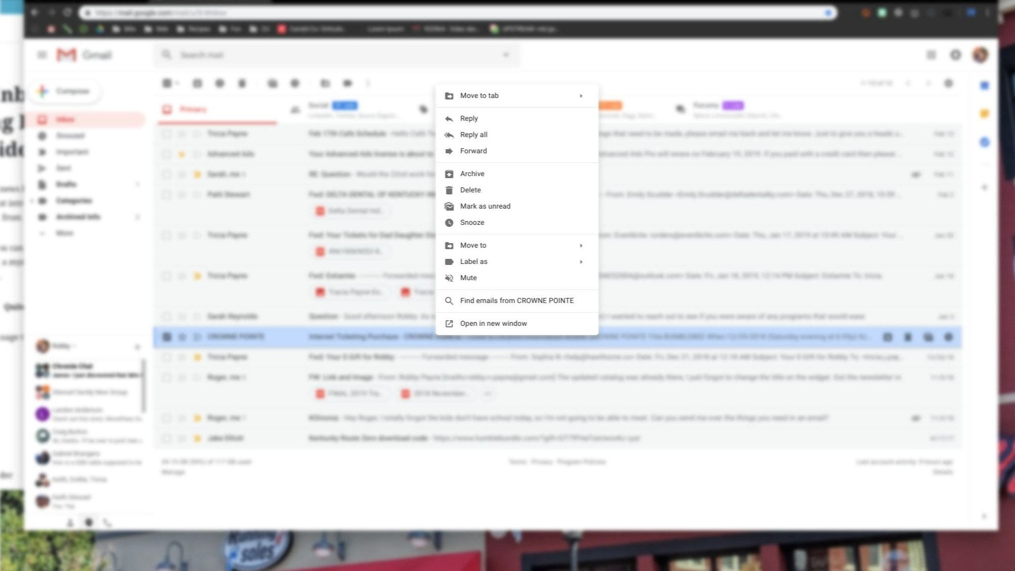 Gmail Inbox Productivity-Boosting Right Click Menu Now Widely Available