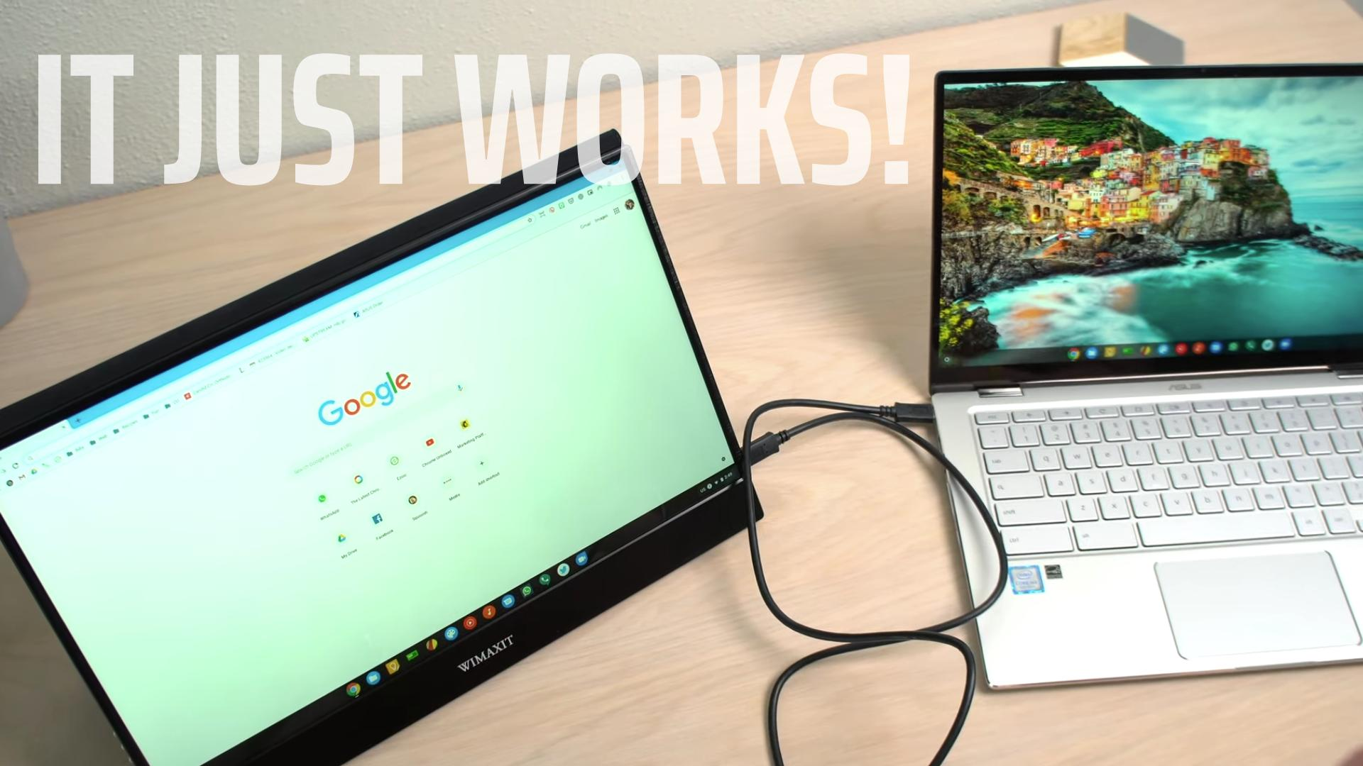 Unboxing A Touchscreen USB-C Portable Monitor That Just Works [VIDEO]