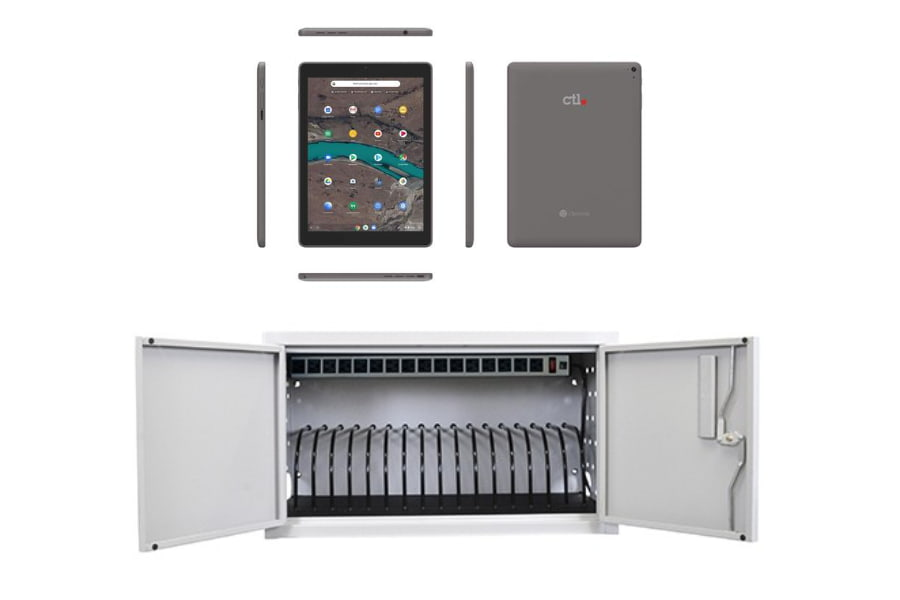 CTL's Budget-Friendly Bundle: Chromebook Tablets, Chrome License and Charging Station