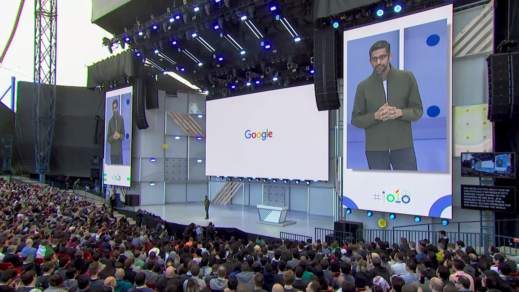 Google I/O 2019 Schedule Unveils Numerous Chrome OS Sessions
