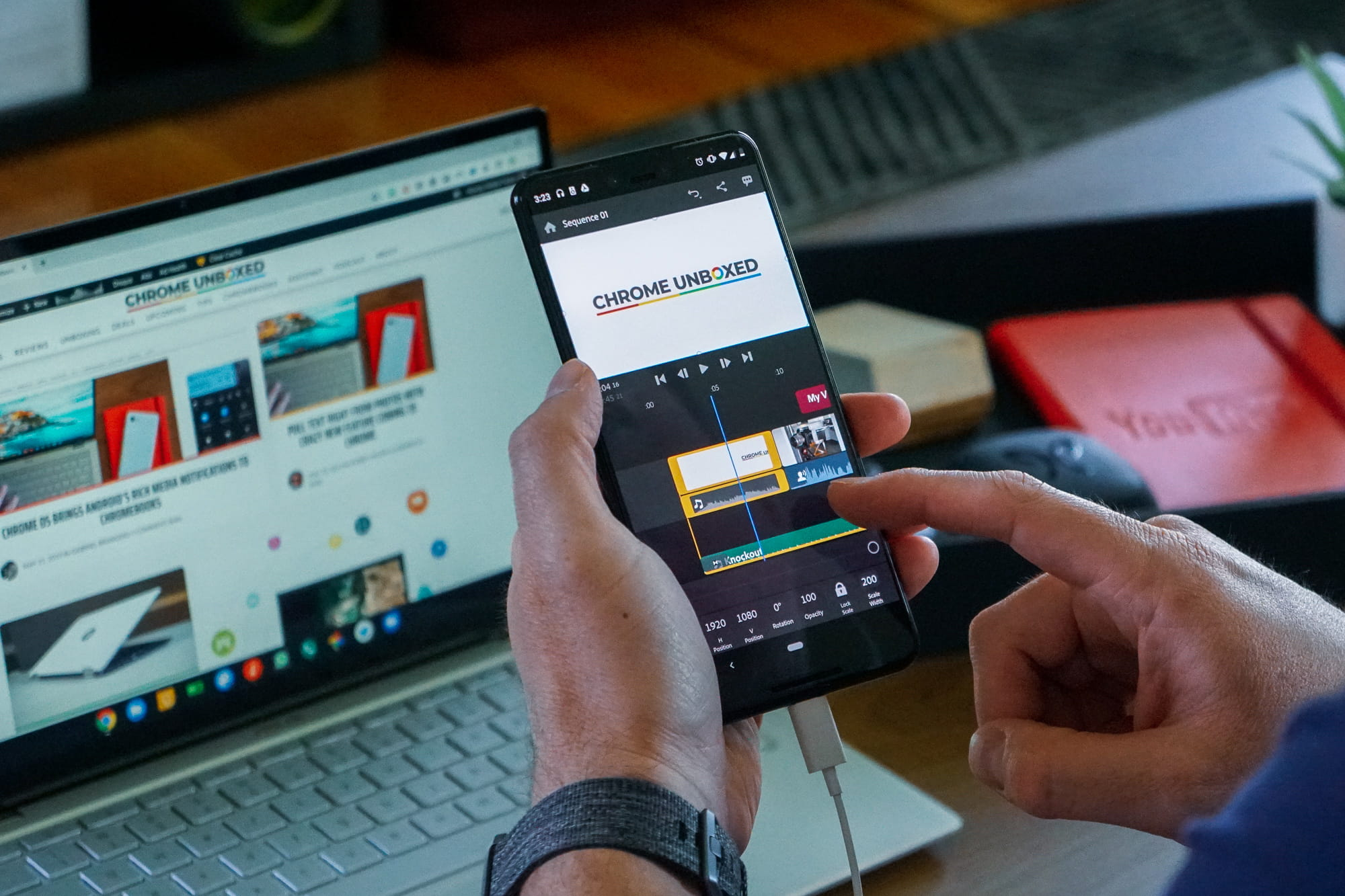 Adobe Premiere Rush Lands on Android Today, Chromebooks Support Coming Soon