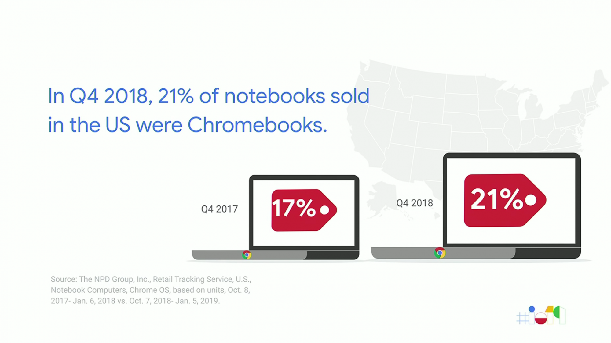Chromebooks Make Big Strides In Sales Numbers in Q4 of 2018