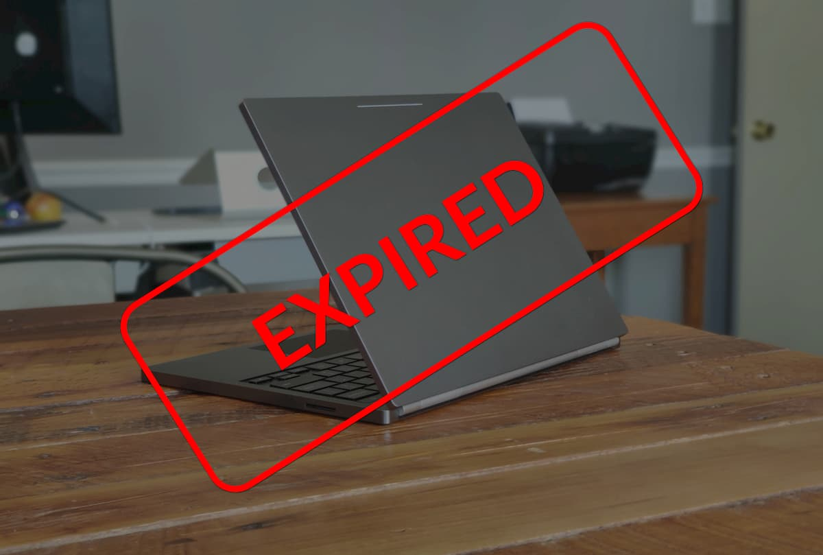 Buying A New Chromebook? Don't Forget To Check The Expiration Date