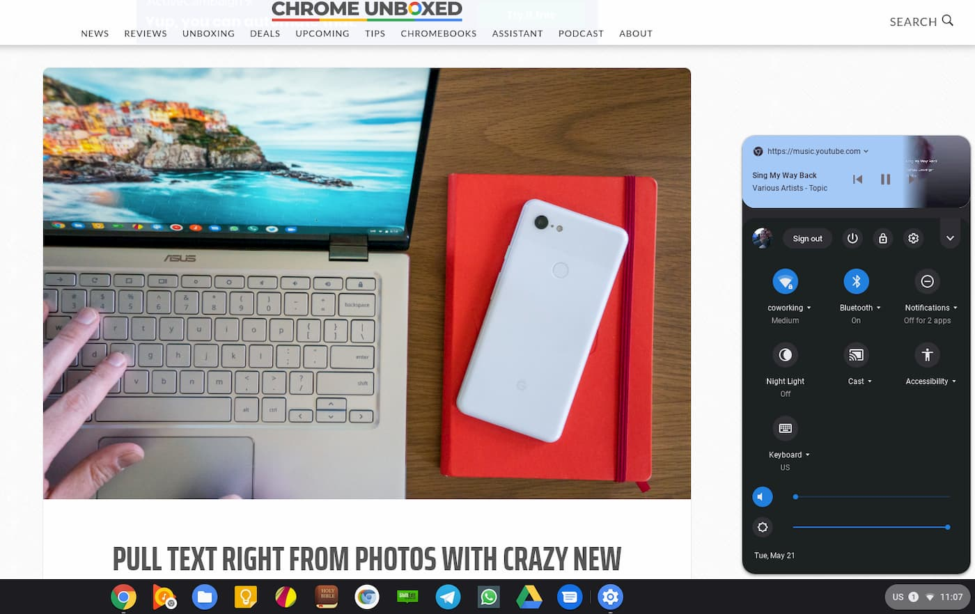 Chrome OS Brings Android's Rich Media Notifications To Chromebooks