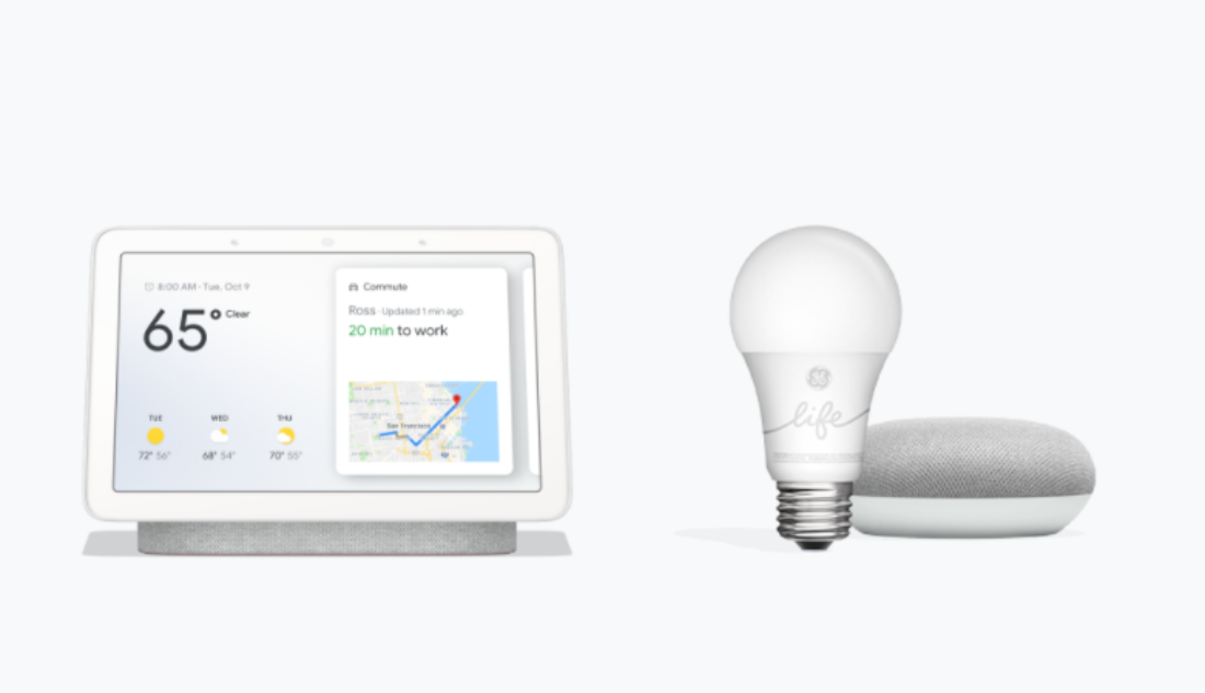 Deal Alert: $99 Google Nest Hub Plus a Free Smart Light Starter Kit