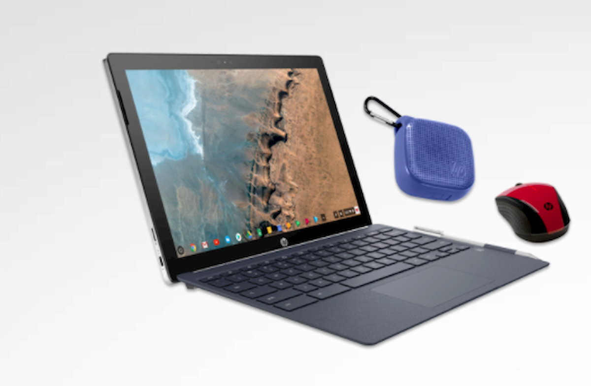 Deal Alert: Snag The Detachable HP Chromebook x2 w/Portable BT Speaker and Mouse For $450