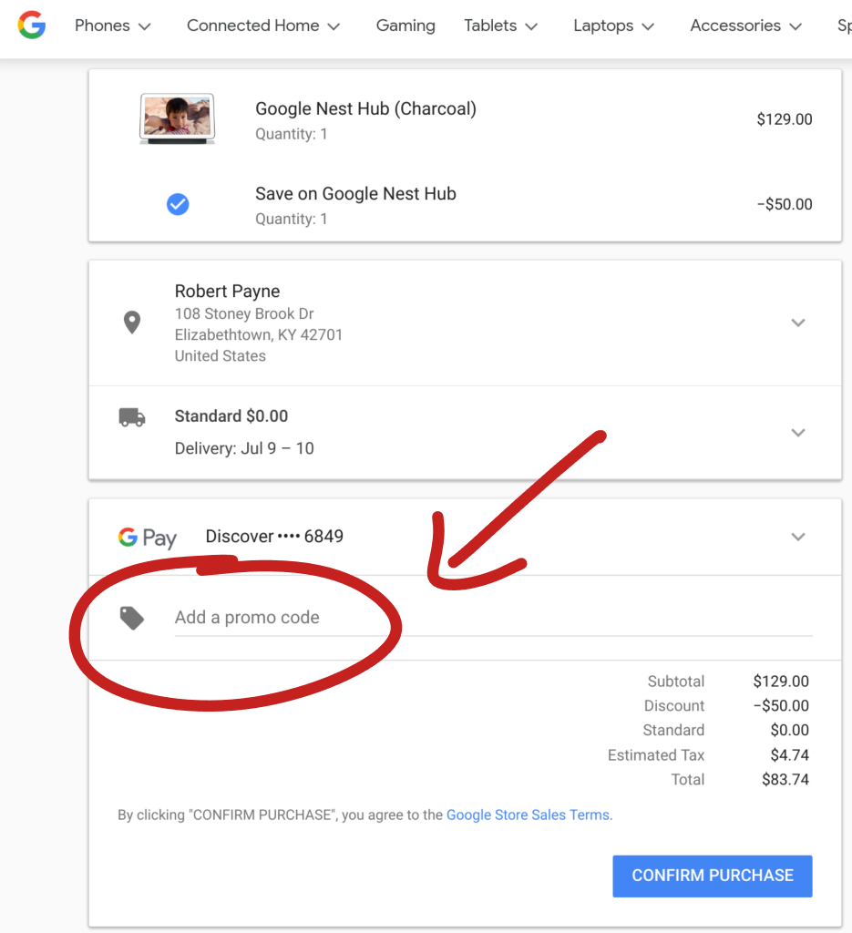 How To Get A Nest Home Hub For $50 If You're A YouTube TV User