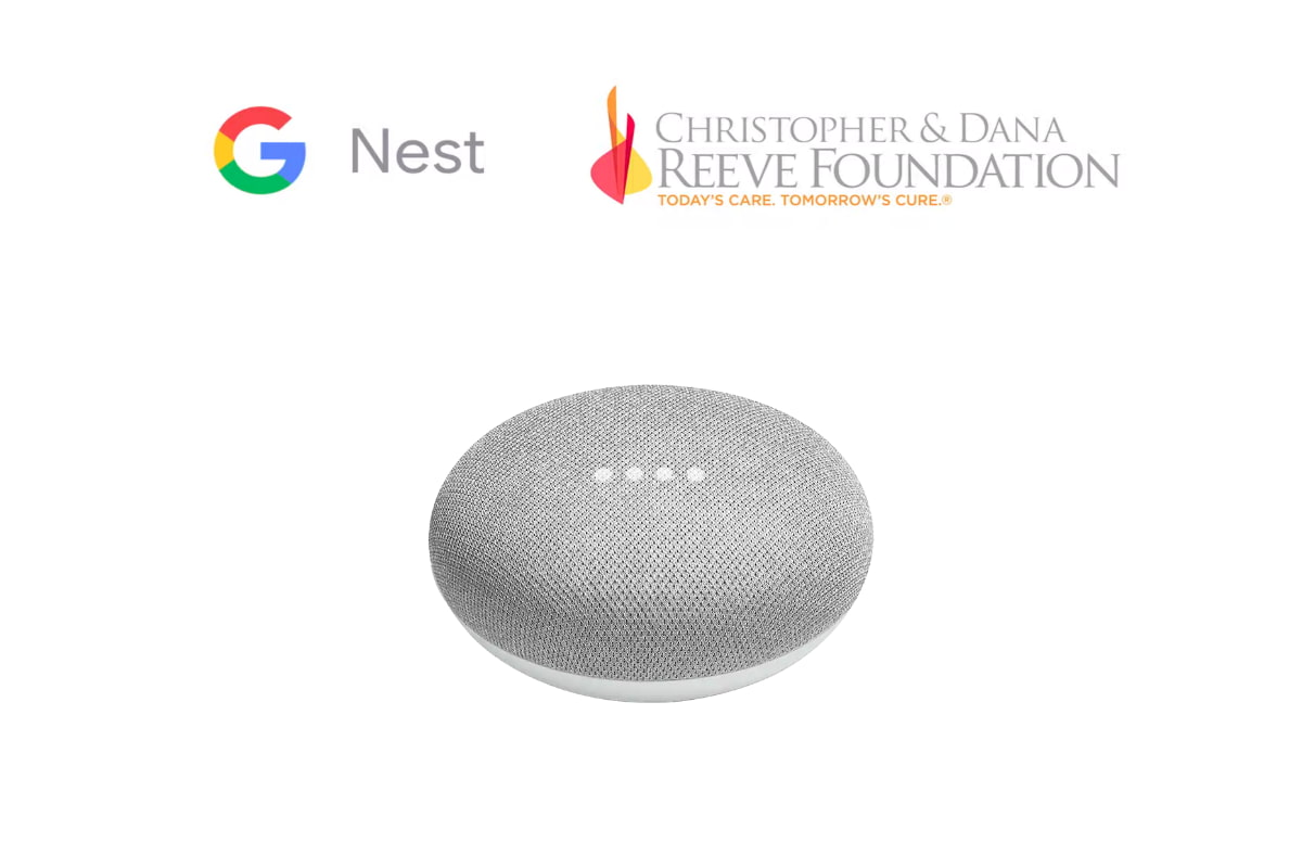 Google Nest Providing 100,000 Home Minis For Those Living With Paralysis