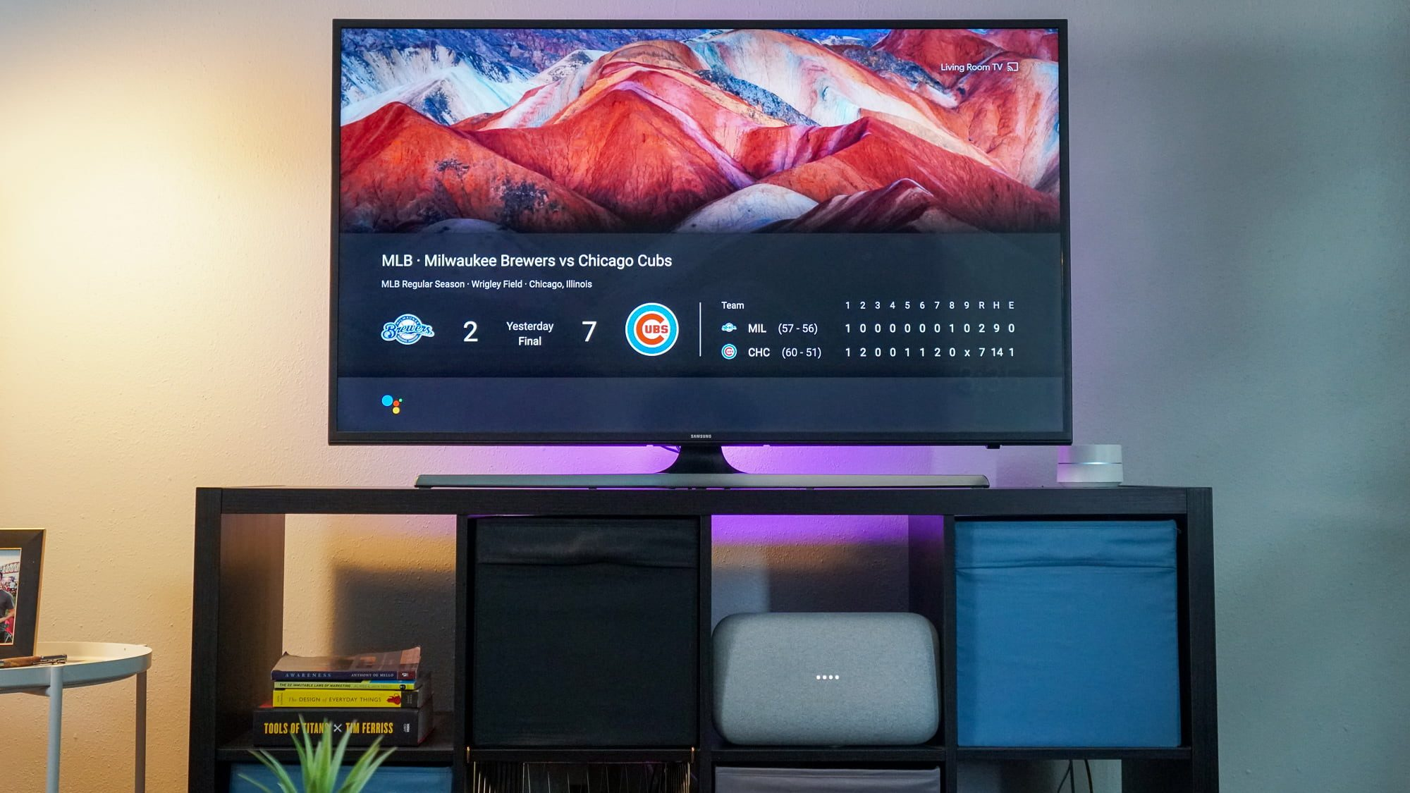 Use the Google Assistant to display results on your TV with Chromecast