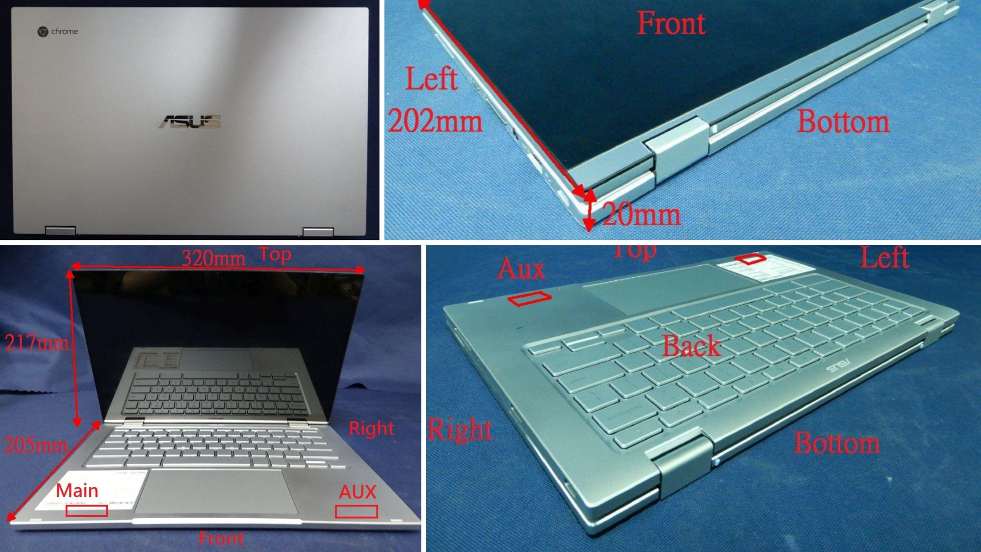 New ASUS Flagship Chromebook (C433) FCC filing: new info, photos and release date window