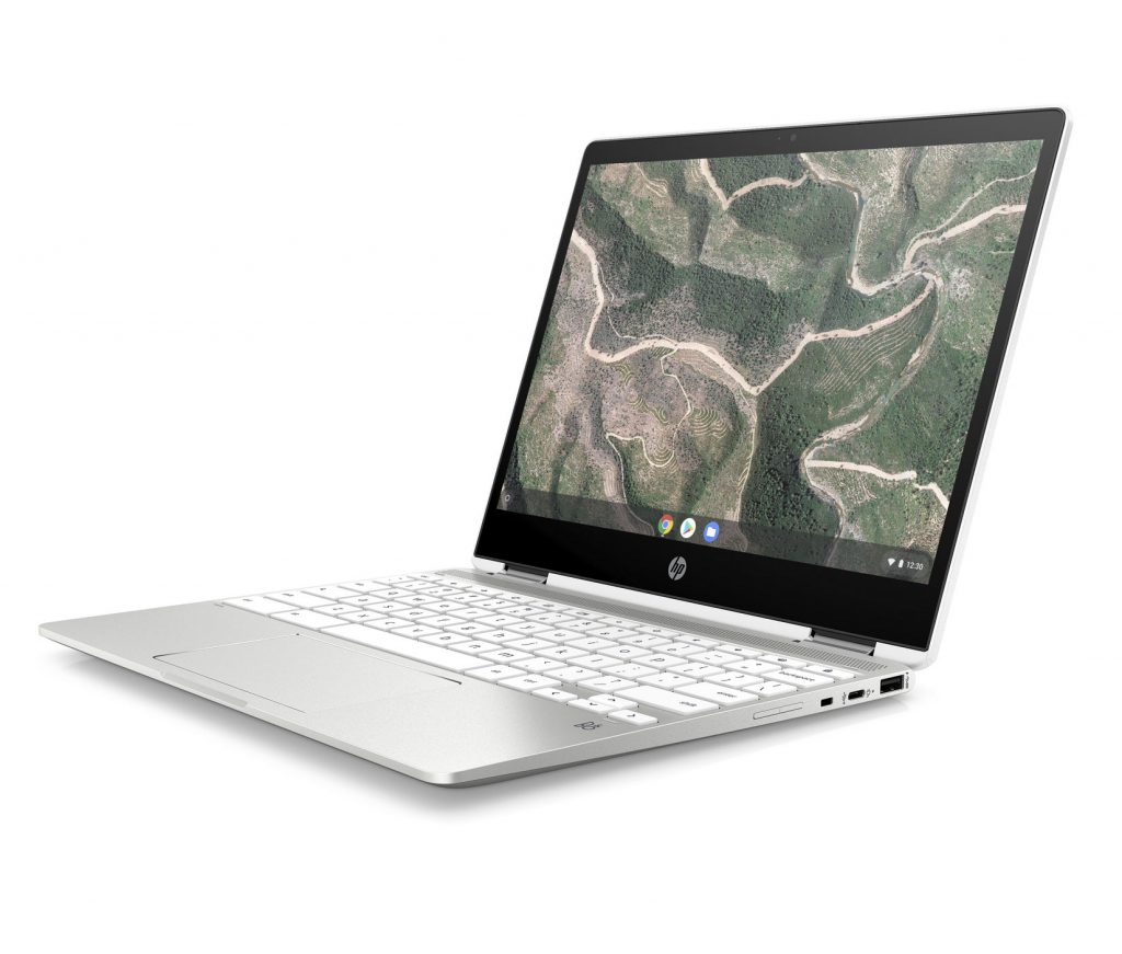 HP Chromebook x360 12b and 14b support pen, touch, and voice