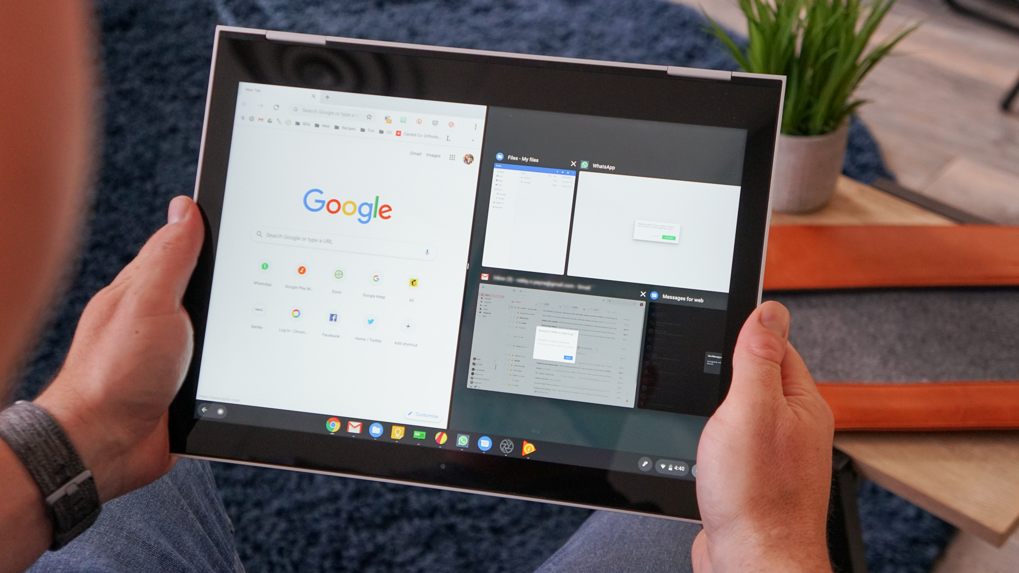 New Chrome OS UI update proves Google is far from done with Chrome OS tablets
