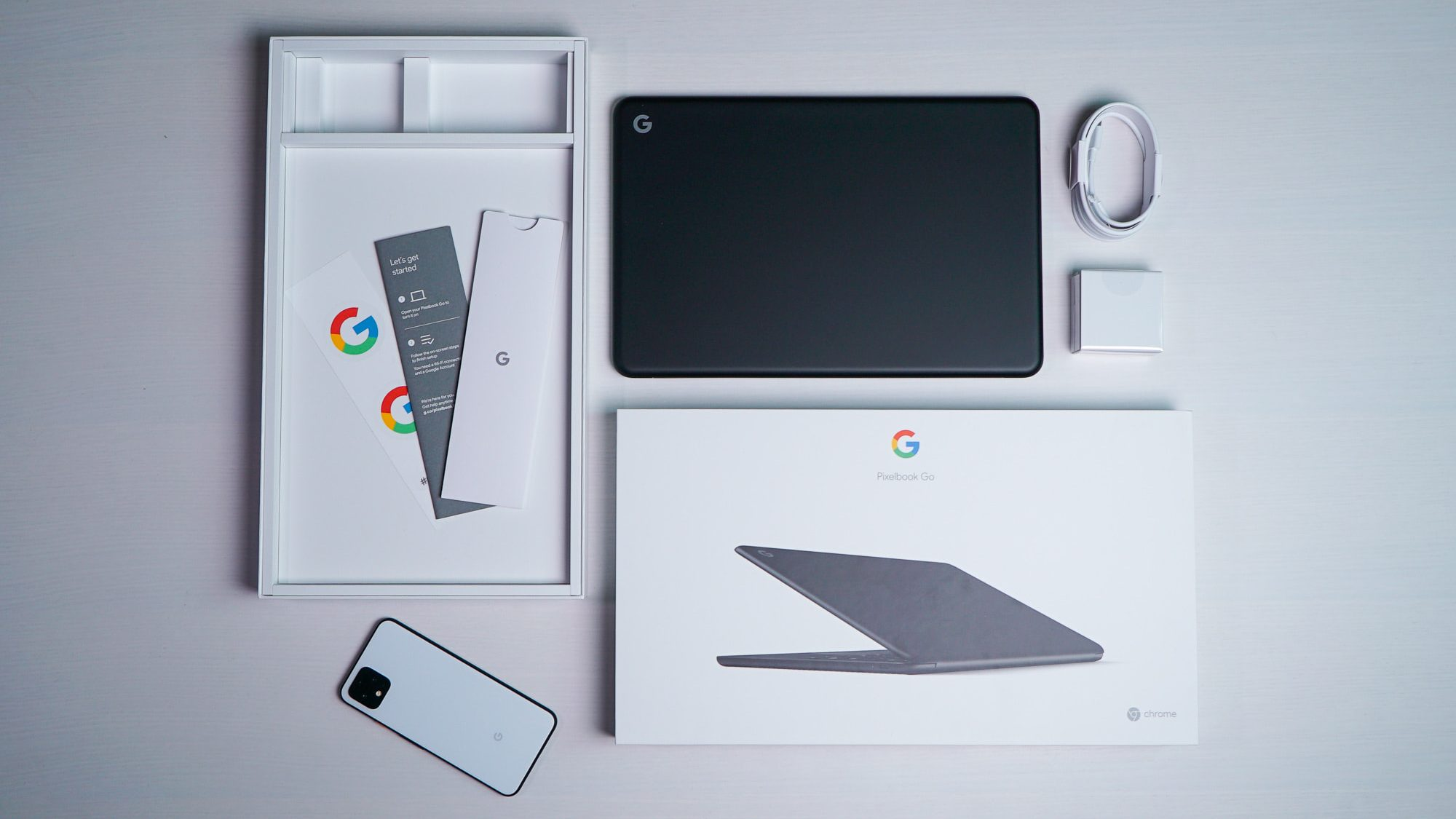 Unboxing the Pixelbook Go