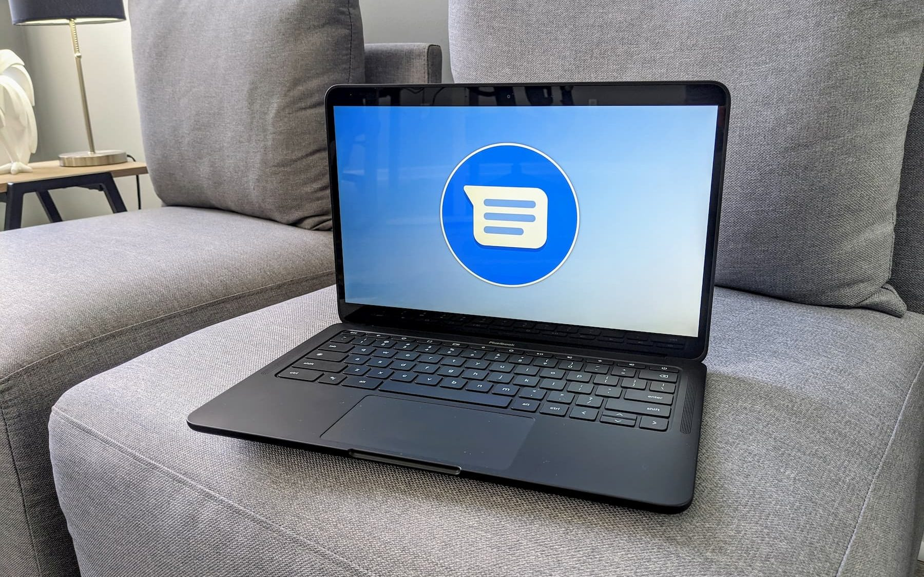 Google's RCS Chat now widely available and you can use it on your Chromebook too