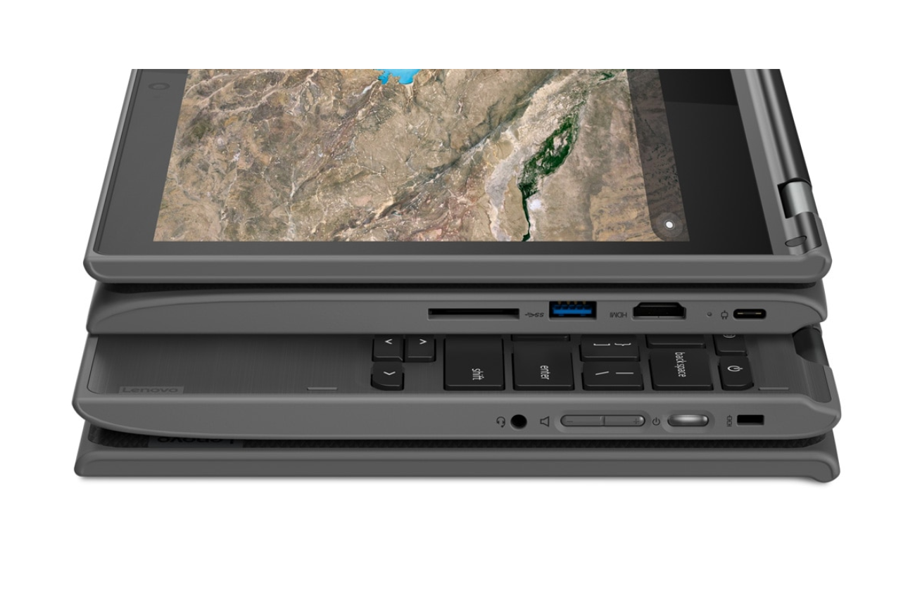 It's Green Monday and Lenovo is selling this rugged, kid-proof Chromebook for only $189