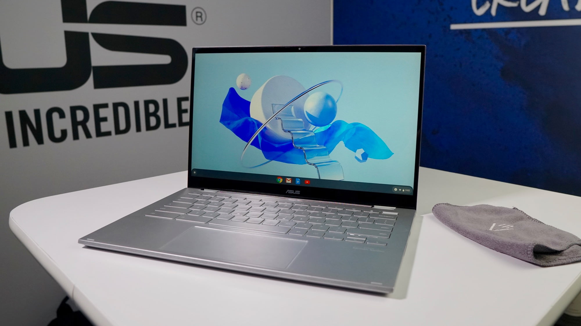 ASUS Chromebook Flip C436 hands-on impressions from CES 2020 [VIDEO]