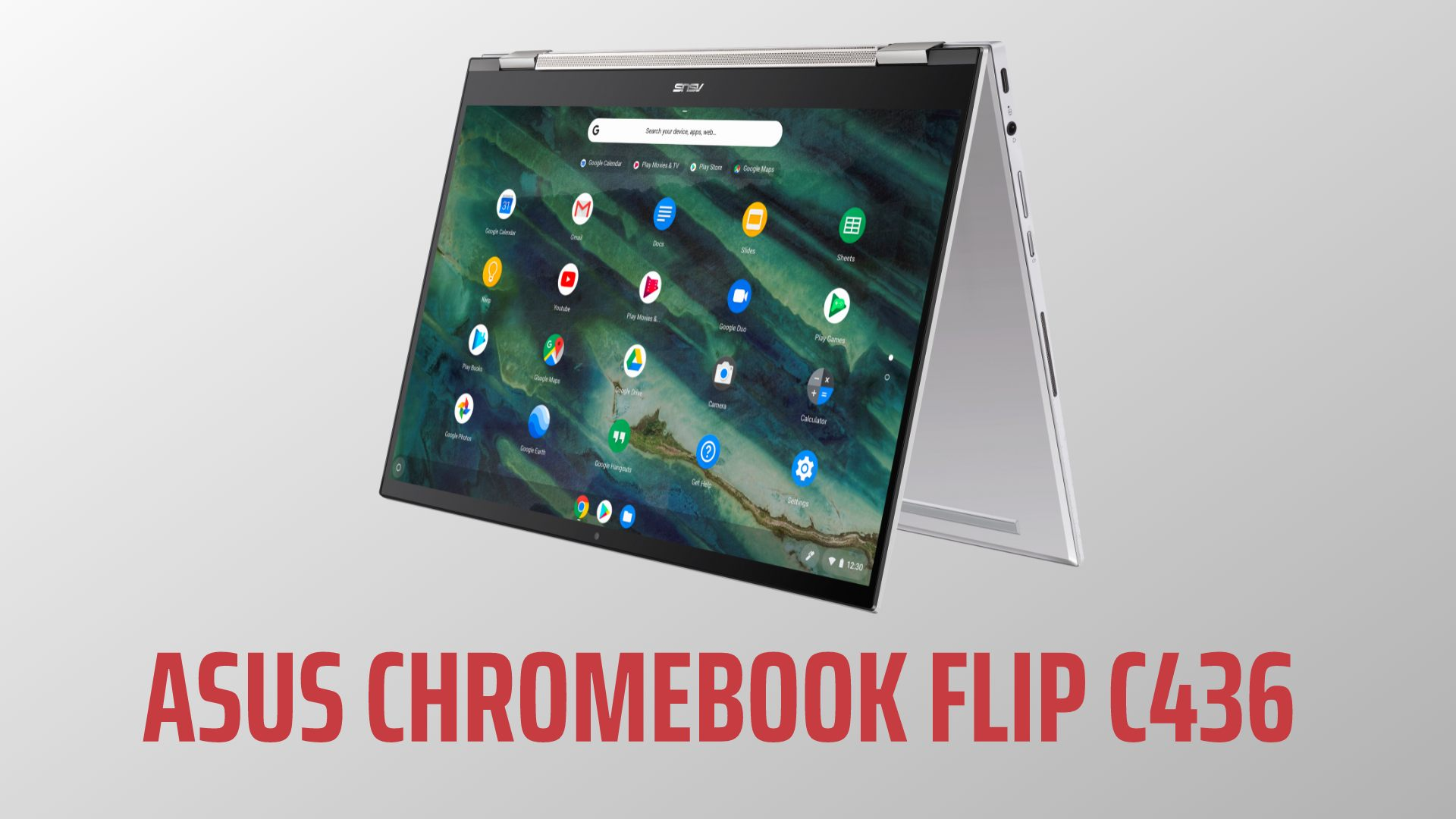 ASUS delivers as the Chromebook Flip C436 arrives at CES 2020