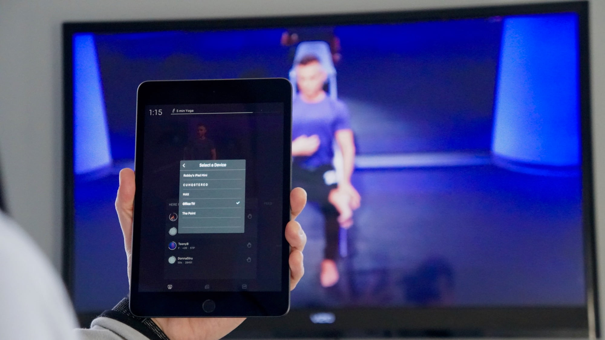 Peloton expands Chromecast feature to iOS users