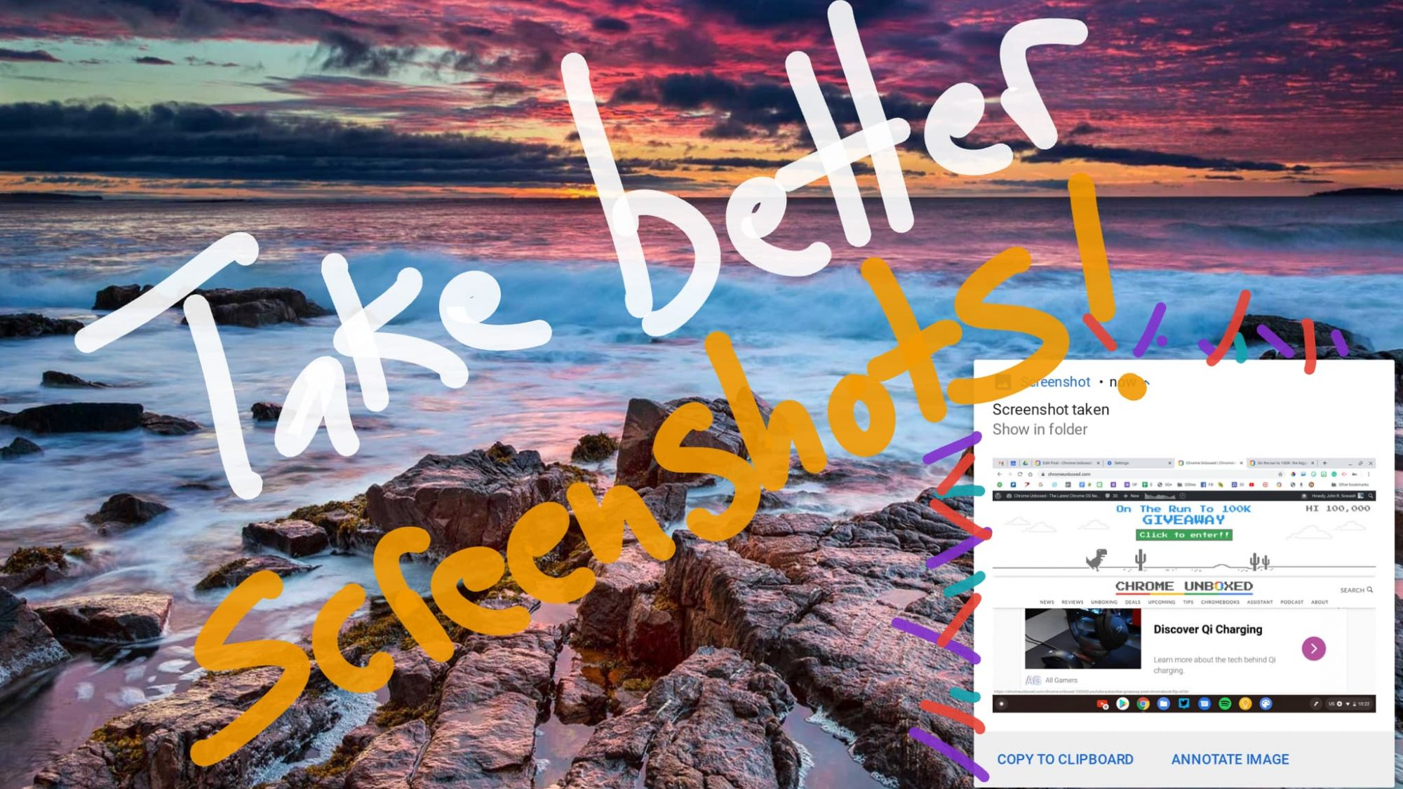 How to take better screenshots on your Chromebook with these easy tips!