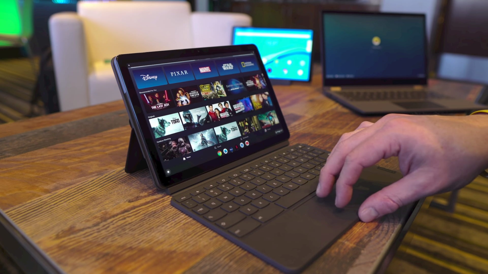 Lenovo Chromebook Duet tablet listings  show up at multiple resellers