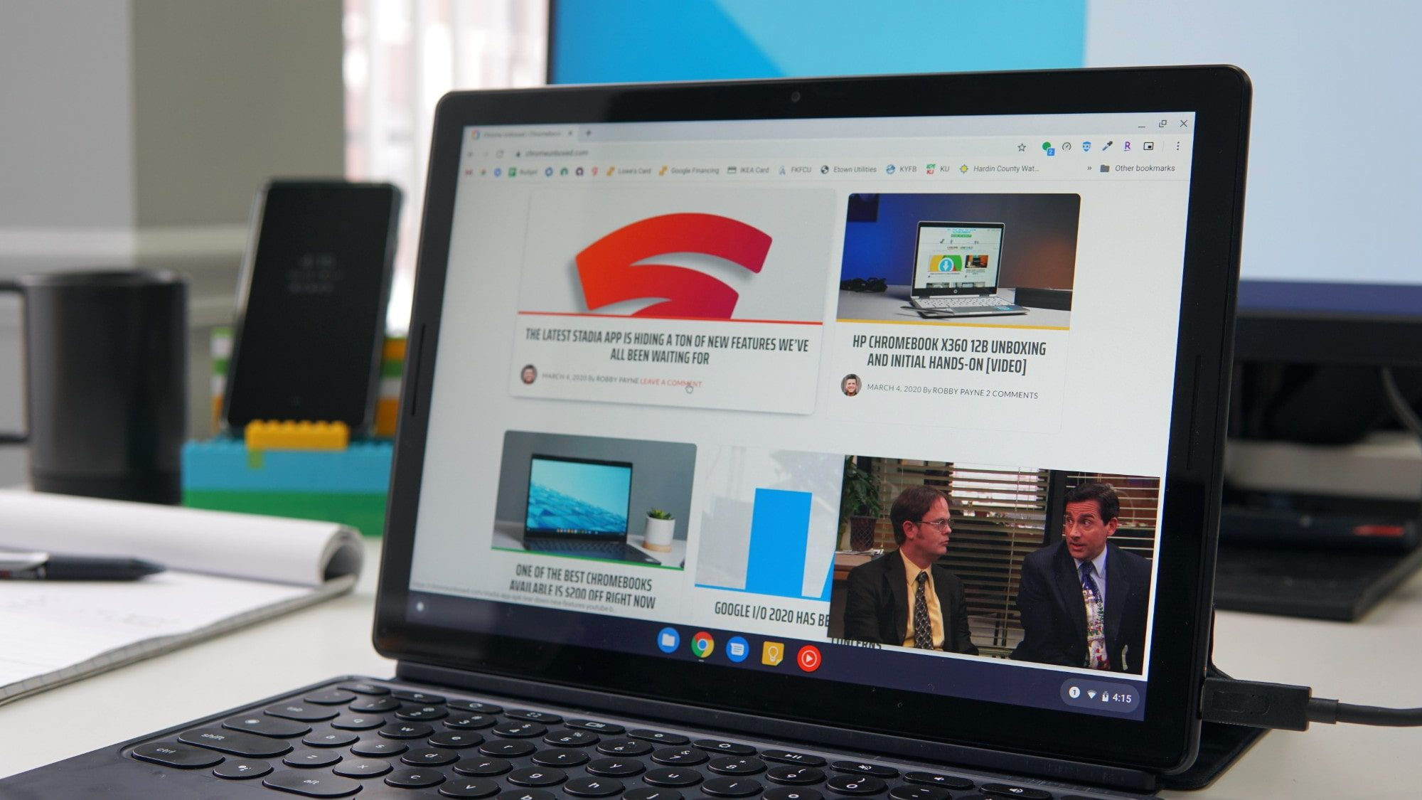 How to enable an easier picture-in-picture mode for Chromebooks
