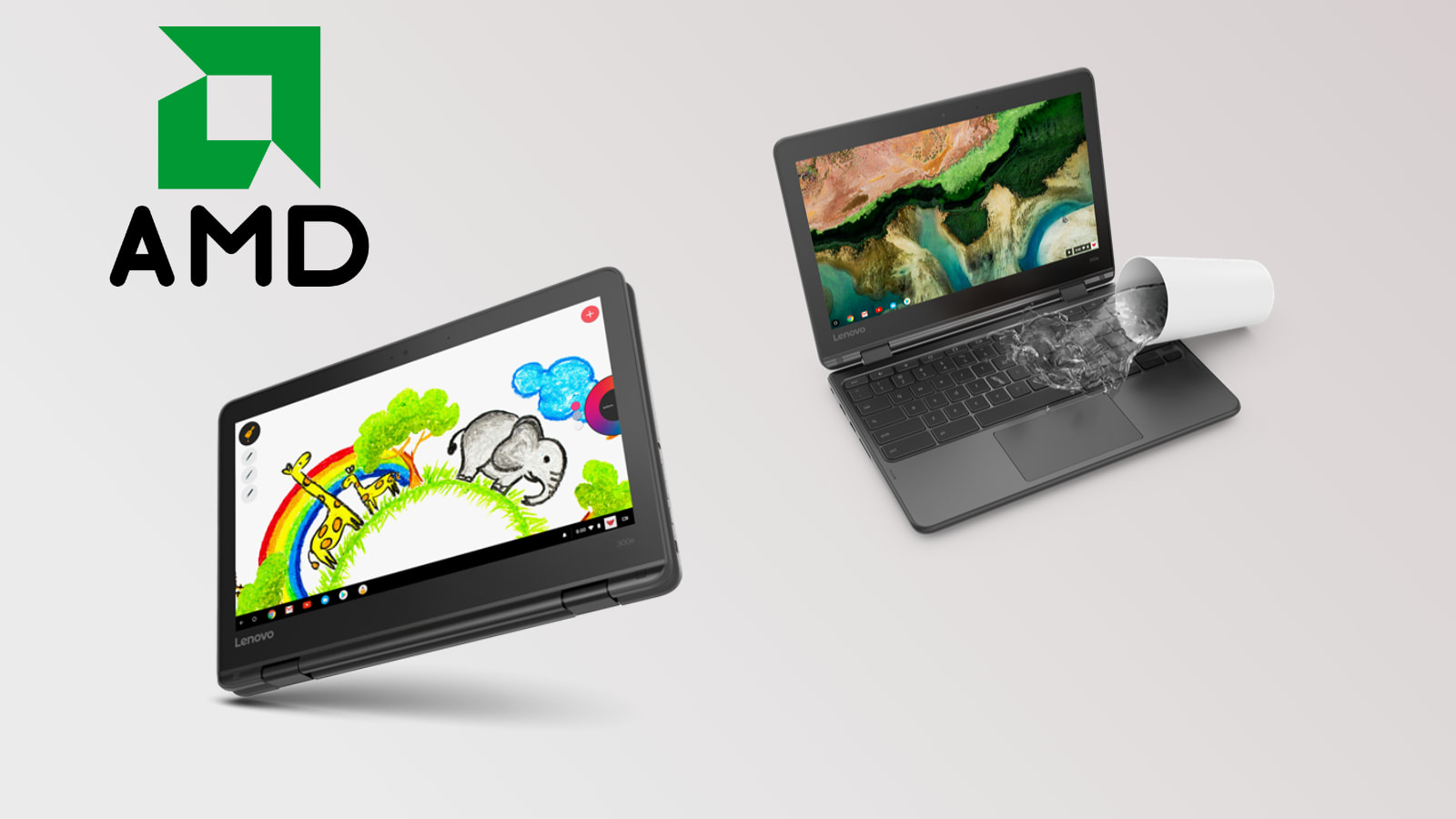 Lenovo brings AMD to its rugged Chromebook lineup