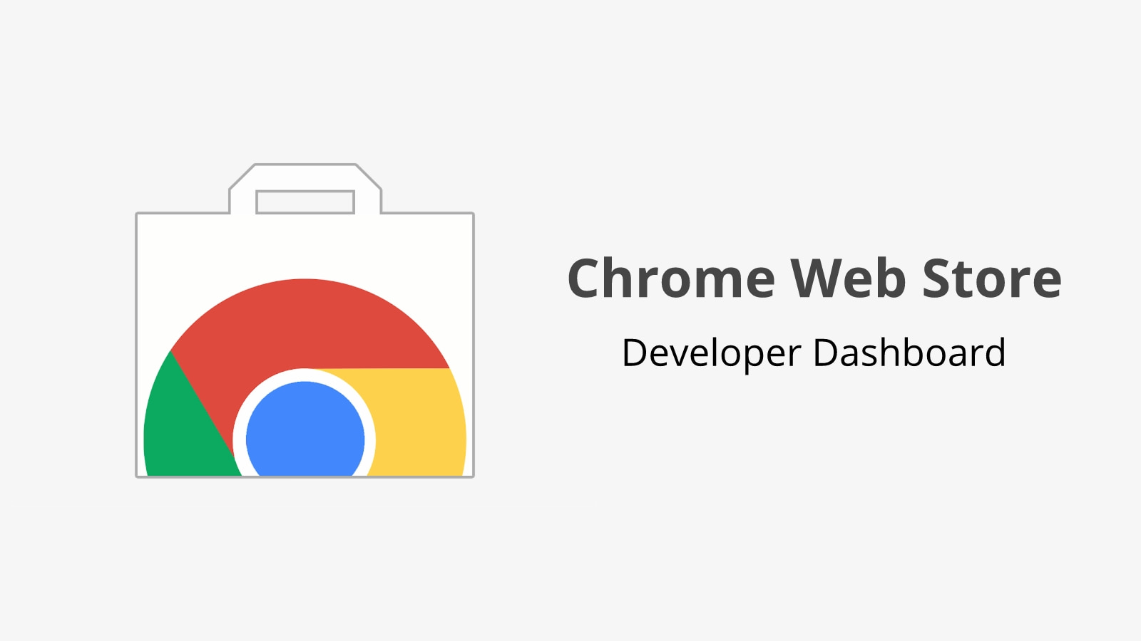 The Chrome Web Store Developer Dashboard gets a new look and upfront registration fee