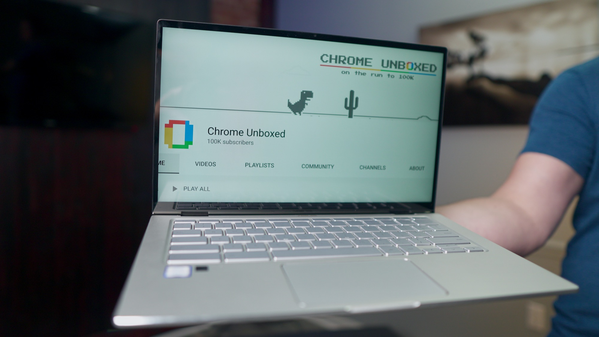 The Chrome Unboxed YouTube channel has passed 100,000 subscribers