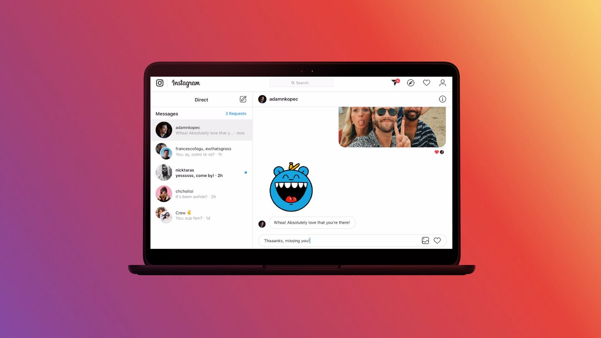 Instagram DMs for the web are official and here's why it matters
