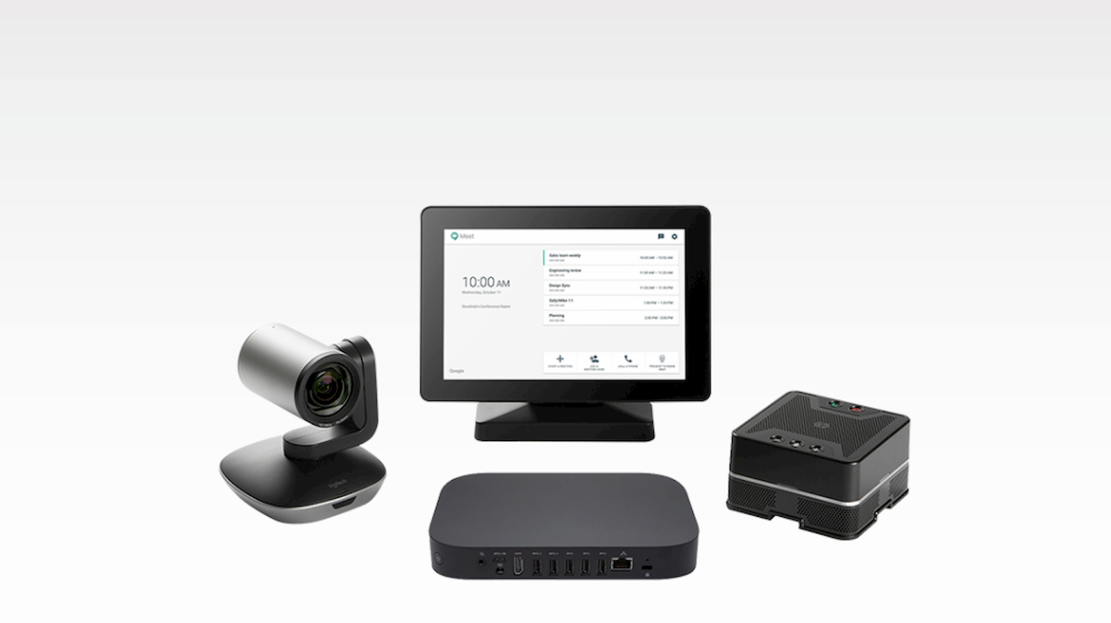 ASUS debuts Google Meet kit with 4K cameras and redesigned Chromebox