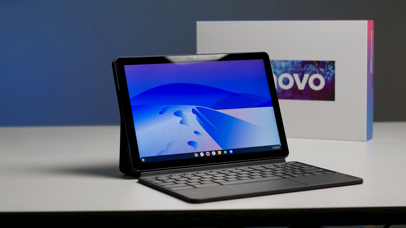 The IdeaPad Duet Chromebook tablet just arrived on Lenovo's UK website for £280