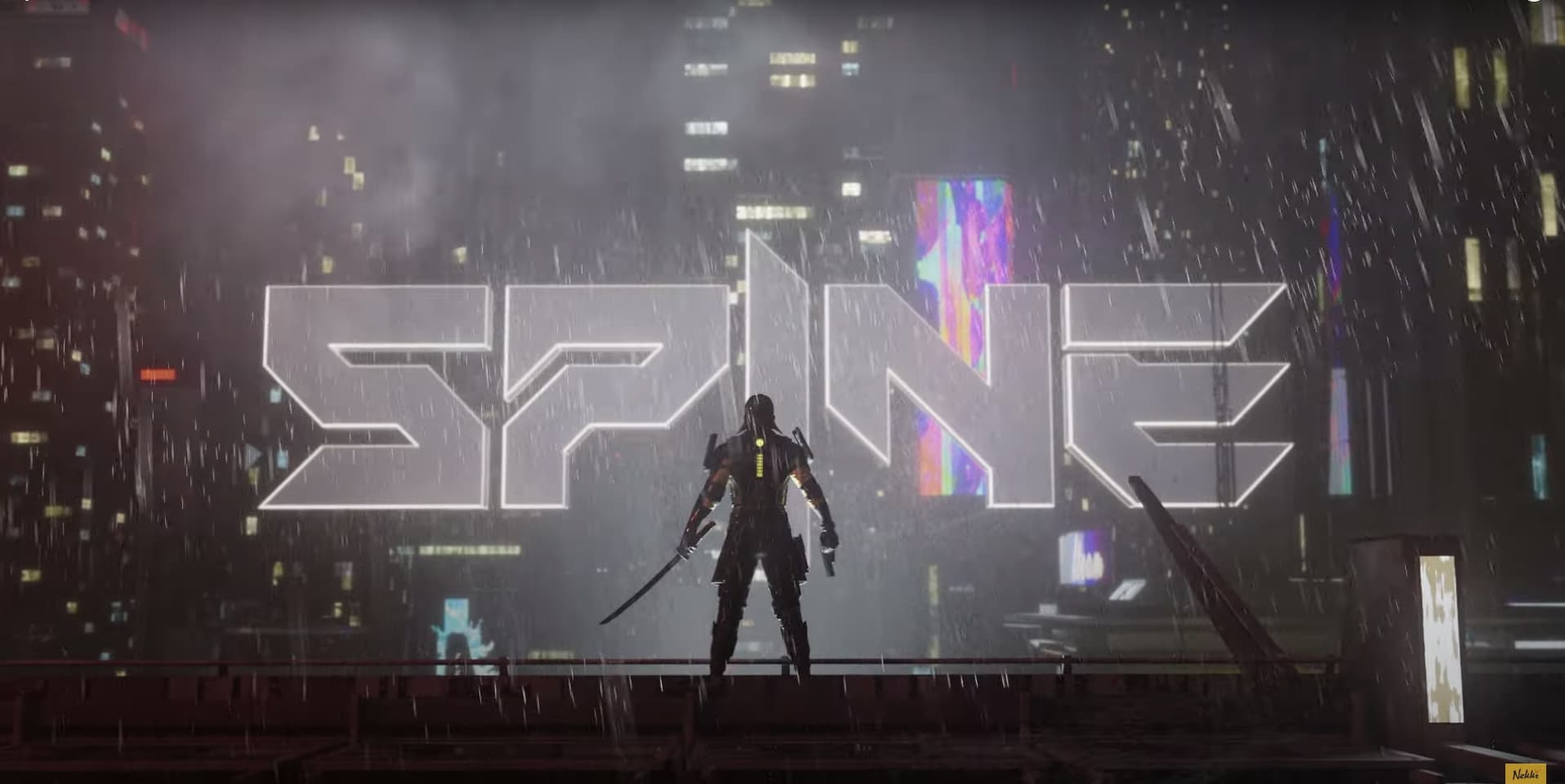 Spine is a New Cyberpunk Action Game from the Developer of the Shadow Fight Series